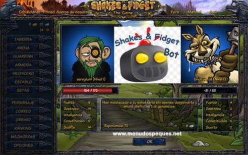 Shakes Fidget No Todo Es Usar El Bot