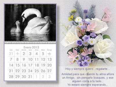 Power Point: Calendario 2013