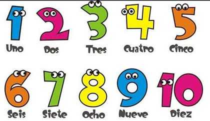 Canciones infantiles para aprender los números del 1 al 10