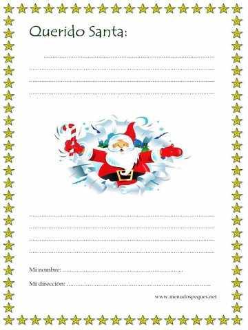 carta para papa noel