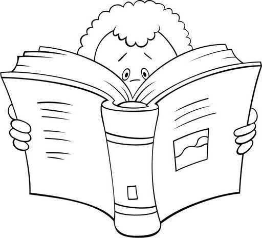 Día del Libro | Láminas para Colorear | Recursos Educativos para ...