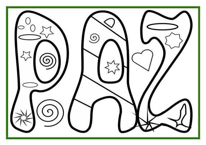 Dibujos Colorear Día De La Paz 13