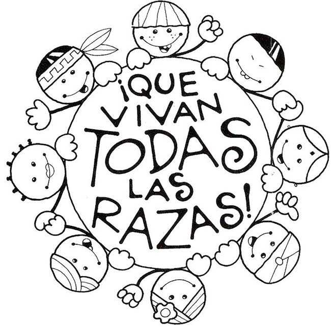 Colorear Día De La Paz Y Día De La Tolerancia 14