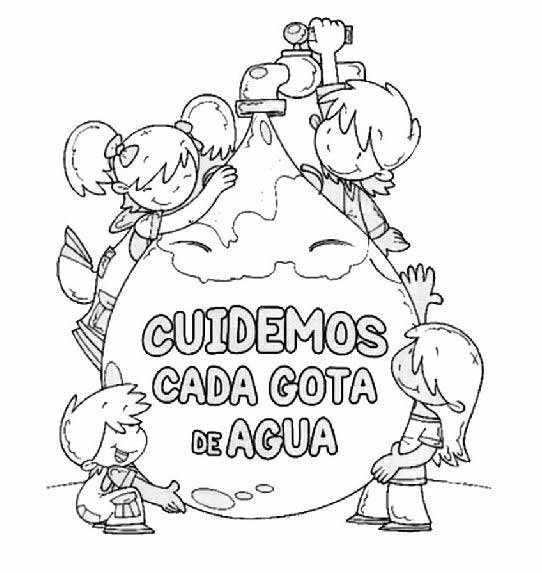Dibujos Para Colorear Día Mundial Del Agua