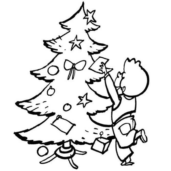 Decoracin del rbol de navidad