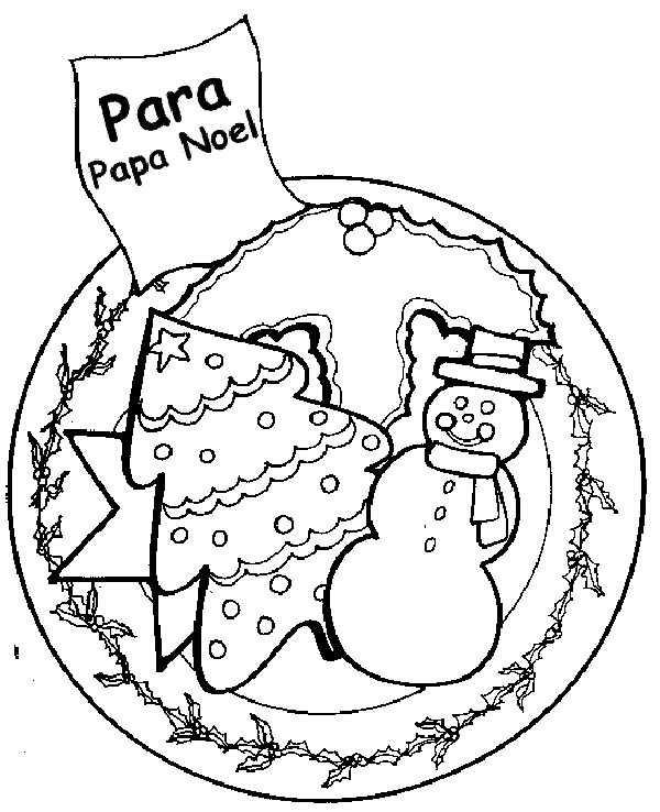 Bolas De Navidad Dibujos Para Colorear.Colorear Bola De Navidad Decorada