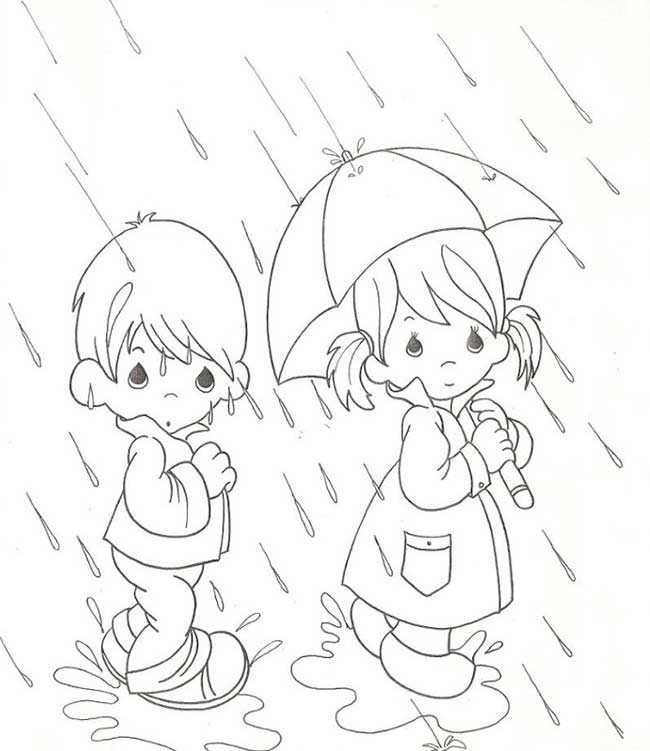 lluvia para colorear - Karlapa.ponderresearch.co