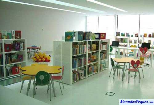 biblioteca infantil, día del libro