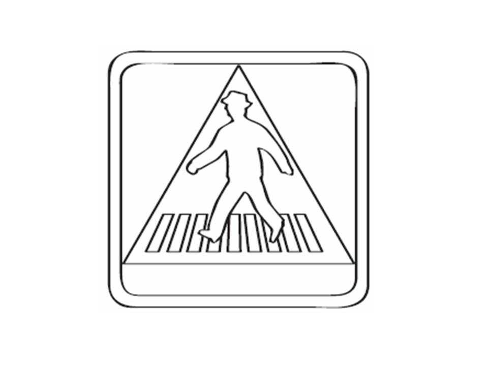 Colorear Seguridad Vial 03