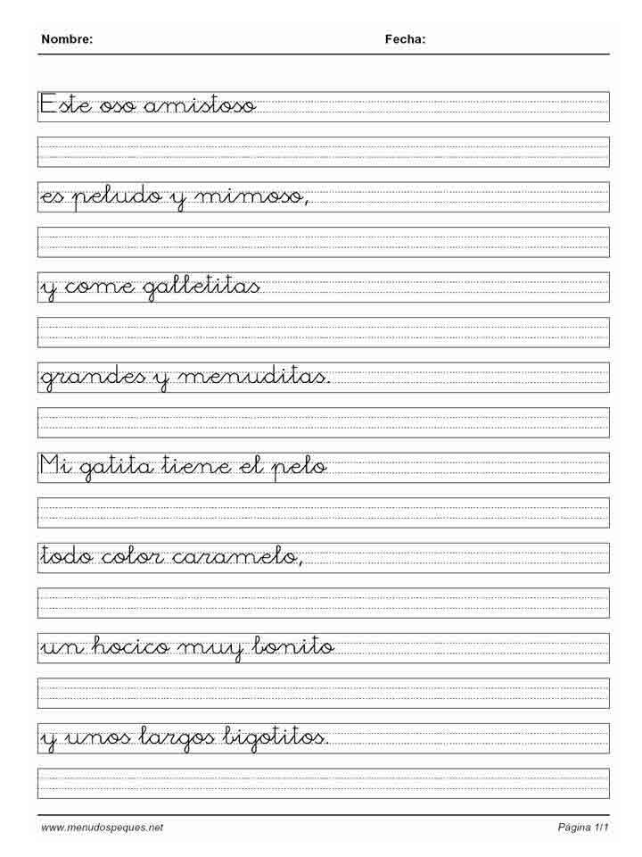 Caligrafia para imprimir gratis  Imagui