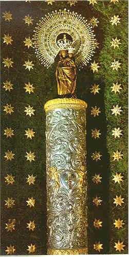 canciones para la virgen del pilar zaragoza